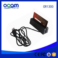 RS232 TTL USB Interface Port Free Software Programmable Smallest 123 Track Mini MSR Magnetic Stripe Card Reader Factory Price
