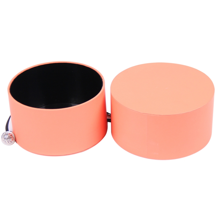 Custom box packaging paper rigid round jewellery bracelet gift box for packing jewelry