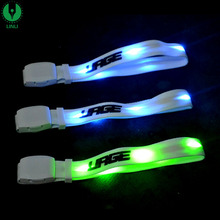 LED Flash Color Changing Lighting LED Bangle, Noise LED Bracelet, Illuminated LED Wristband