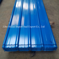 corrugated color steel roof tile
