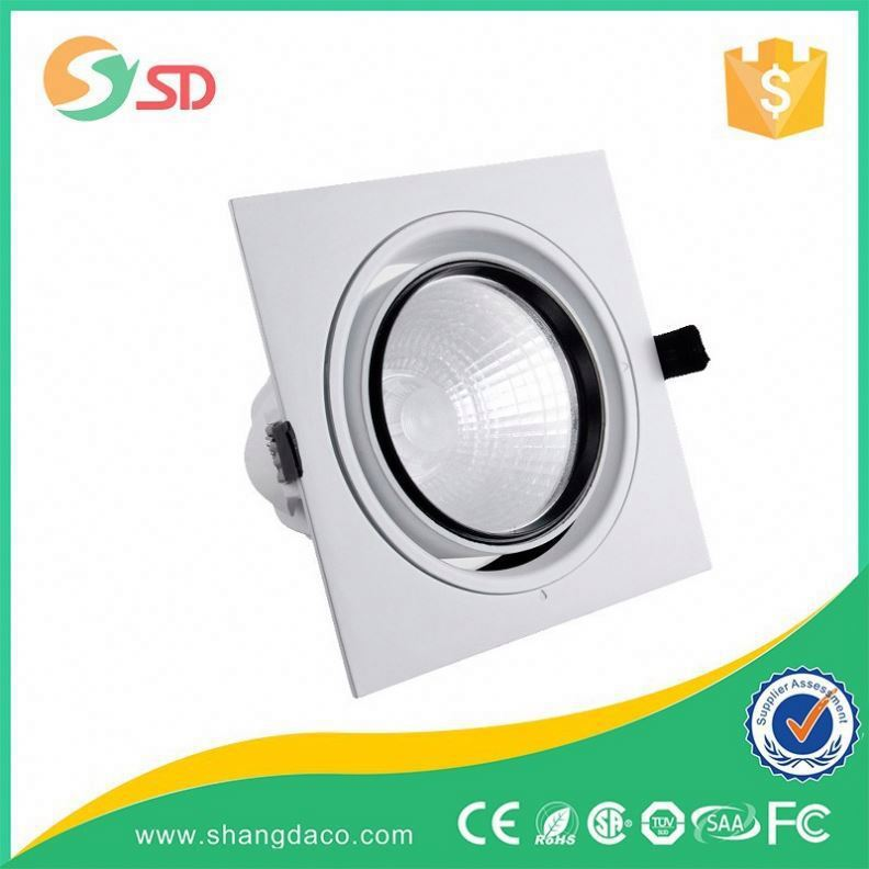 Shangda 2015 hot sales crystal downlight recessed on ceiling match with MR16 halogen bulb