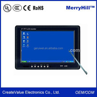 Resistive Touch Monitor 7 Inch 10 Inch 12V Input Touch Screen Tablet PC For Taxi