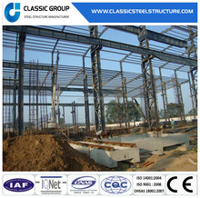 Industrial Building Cold Reliable Steel Frame Storage Warehouse