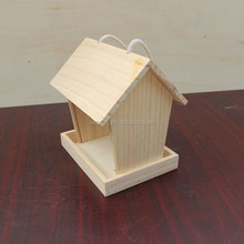 DIY wooden decorated bird house wholesale