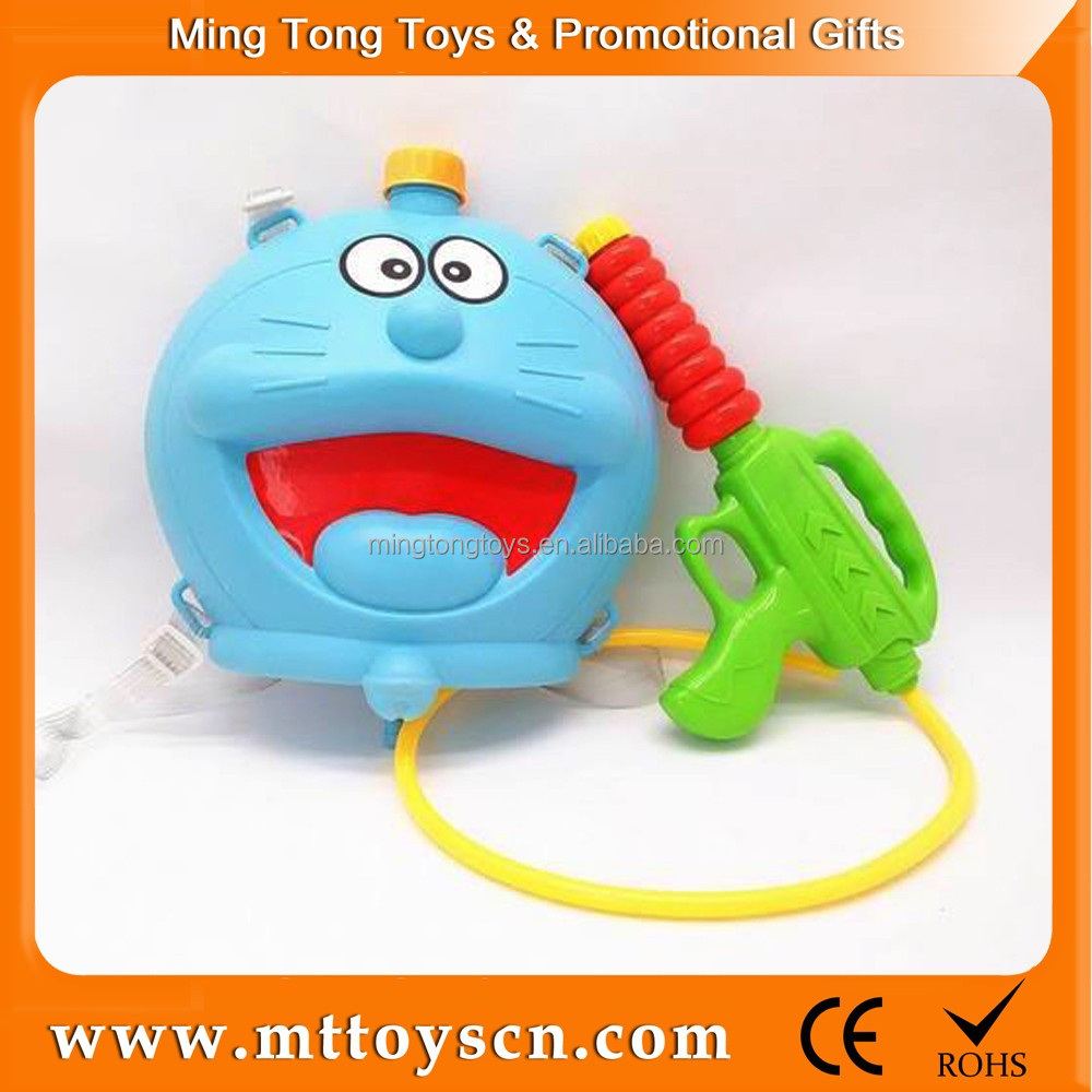 Pokonyan cartoon pondage plastic bottle spray water gun toy