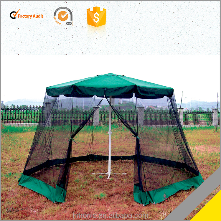 Exported Garden Umbrellas With Mosquito Net, Large Party waterproof gazebo tent