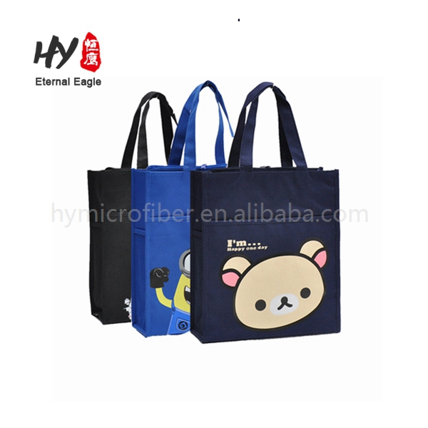 New design wholesale superior cloth laminated customized canvas tote bags