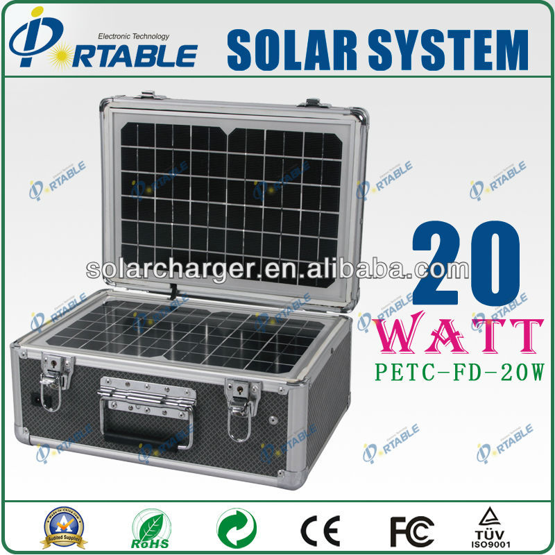 20W folding free solar energy instead of high cost of fuel oil