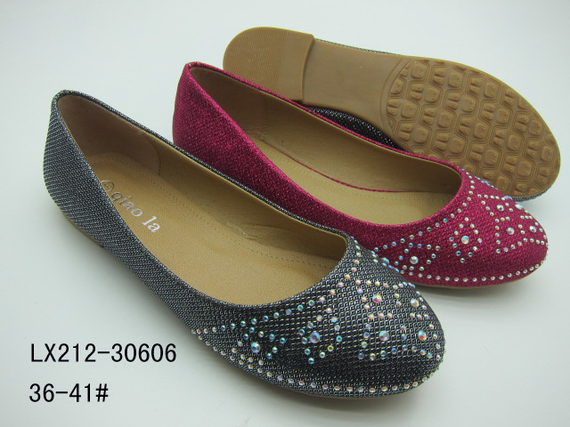 2015 NICE BEADING DESIGN FOOTWEAR LADIES SUMMER FLAT FASHION SHOES FOOTWEAR