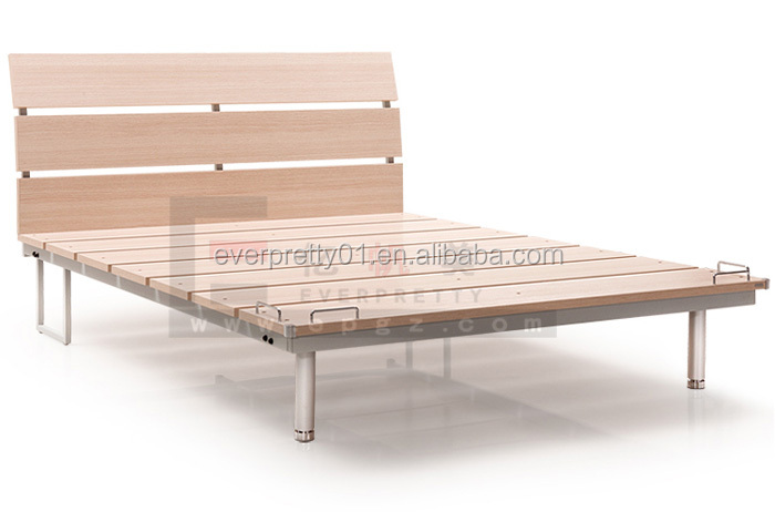 New Design Bedroom Furniture Wood Bed