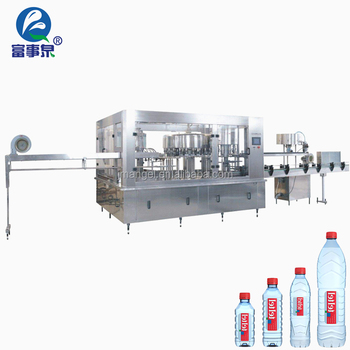 20 years experience 500 ml mineral automatic alcohol bottling machine