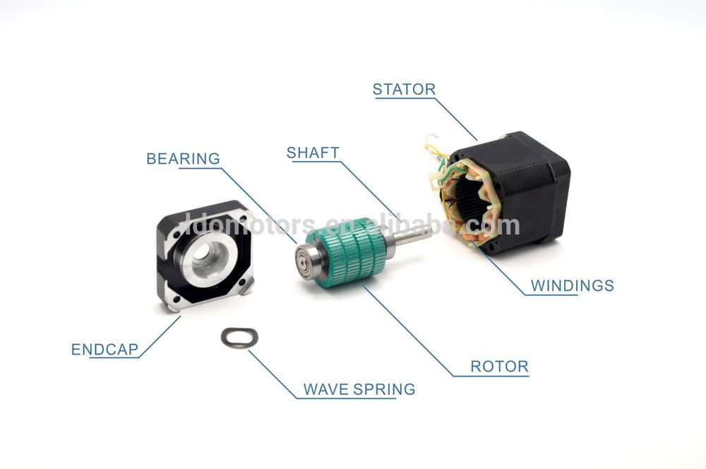 Stepper Motor 42mm, NEMA17 Stepper Motor Manufacturer