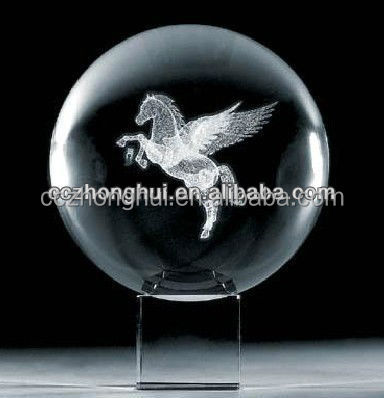 3d Laser Engraving Personalized Crystal Ball