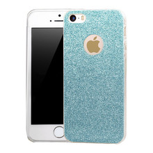 High Quality Soft Glitter TPU Case Back Cover For iPhone 5s Cases, For iPhone 5 Glitter TPU Case