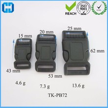 Wholesale New Product OEM Webbing Strap Plastic Side Released Buckle