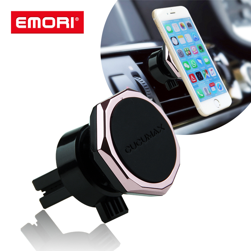 Custom Logo Magnetic Air Vent Mount Car Phone Holder Stand