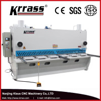 qc11y hydraulic shearing machine , large format guillotine cutter , E21S X axis automatic iron sheet cutting machine