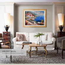 Wholesale Handmade No Frame High Quality Low Price Europe Landscape Oil Painting On Canvas