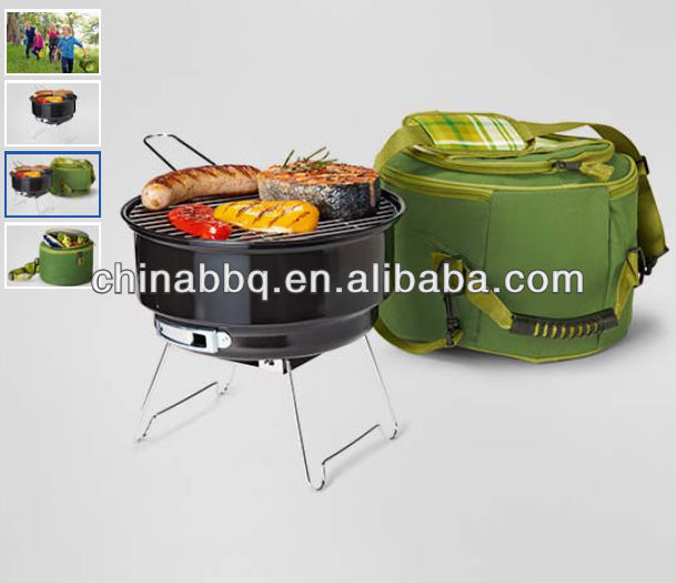portable bbq grill with thermo bag