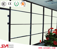 Singyes SPD laminated blue smart film glass