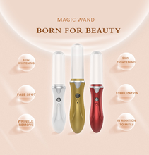 Latest products in market plasma light treatment Ion Magic Wand facial massage machine CE,FCC,RoHS Certificated
