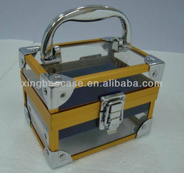 Cosmetic Case/Box/Beauty bag aluminum make up case