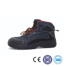 213020 China supplier PU outer sole for men Suede leather safety shoe
