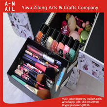 Top quality hot selling beautiful makeup case factory wholesale beauty cosmetic case / bag / box