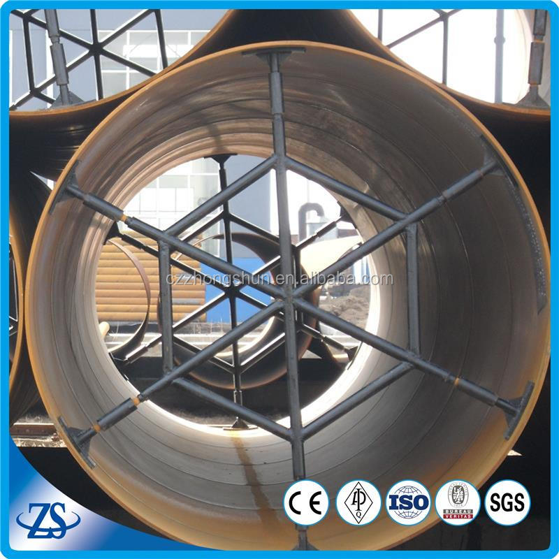welded spiral steel pile pipe for oil and gas manufacturing