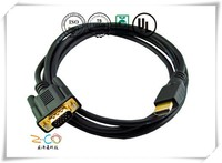 HDMI Cable to VGA Cable accept customized drawing