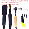 One Set AC 110v -220v Arc Shape Bending Tool+Acrylic Letter Angle heat Bender tool +Right angle bending machine