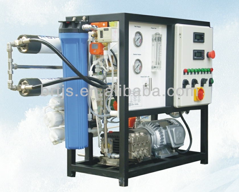 containerized seawater desalination equipment for boat/seawater desalination ro plant