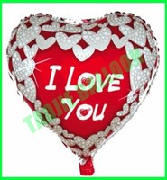 "18"" I love you balloon,Valentine' Day balloon"