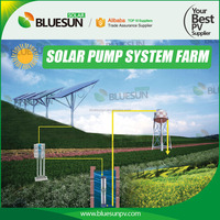 5HP solar power water pump system for deep well