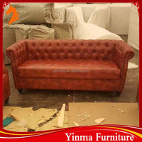 2015 China Cheap nappa leather sofa