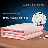 Silk Duvet Set Type and Hotel,Home, Hotel Use Silk Bedding Set ( Fill 1 kg)