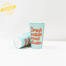 Eco Friendly Single Wall Bio Design Customise Paper Cups