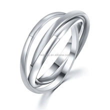 fashion joy college thin line connect ring
