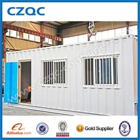 China's offer luxury morden 20ft steel prefabricated Container House/ Office/ Hotel/ Studio