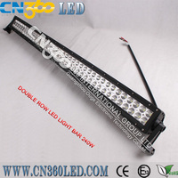 LED 240W 12V 24V offroad led light bar Work Light Flood Lamp Off Road ATV SUV Car Boat Jeep Truck