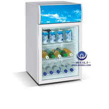 hot sale lockable table top freezer mini fridge with CE and compressor