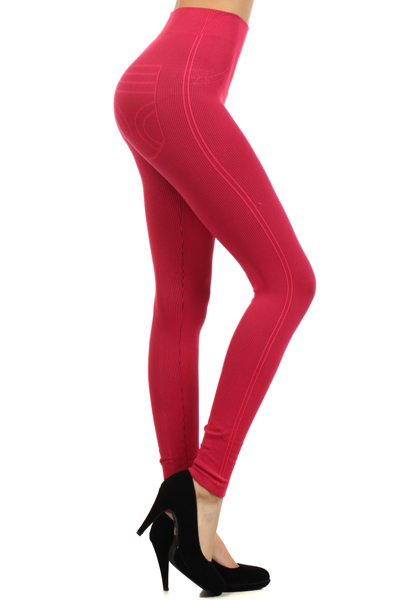 Rib Seamless Leggings