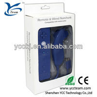 For Wii Remote Controller Wiimote + Nunchuck Nunchuk Combo