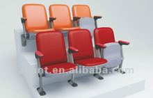 single sofa VIP public tip-up folding chair,gym seating for indoor theater,arena,gym,hall,auditorium,church use