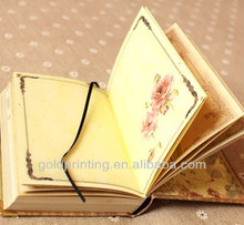 Classical Ivory white woodfree paper notebook