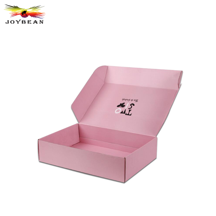 Custom printed corrugated carton paper box for shipping