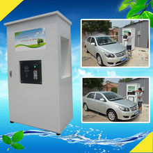 2014 CE 80bar coin/card operated car washing station equipment/self service pressure hand pump for washing cars