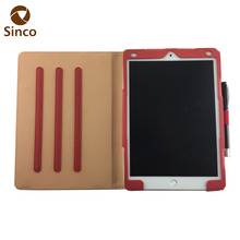 Premium flip case PU leather 9.7 inch tablet cover for ipad