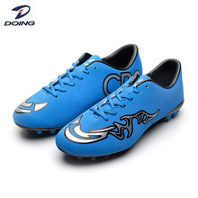 Factory wholesale men outdoor flat sole outdoor soccer shoes