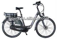 dutch man nexus 7 speed e bike with lithium battery